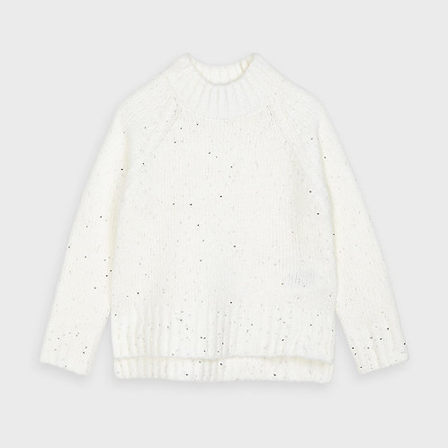 Mayoral White Sweater