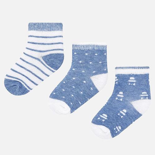 Mayoral 3 pack socks