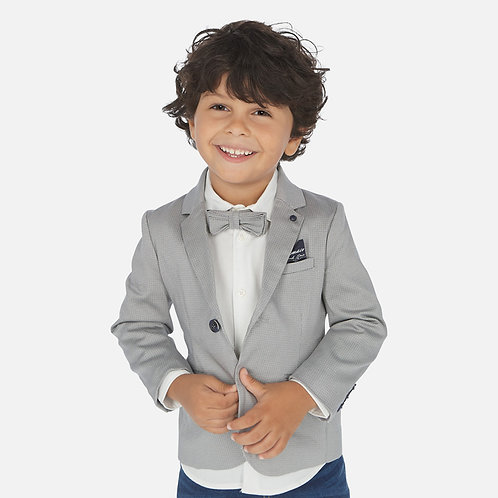 Mayoral patterned blazer