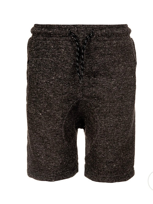 copy of Steel heathered knit short