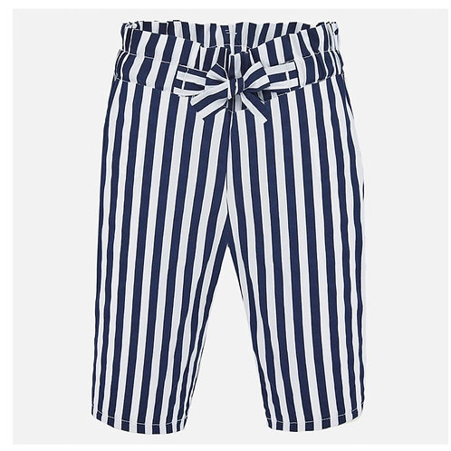 Mayoral navy striped pant