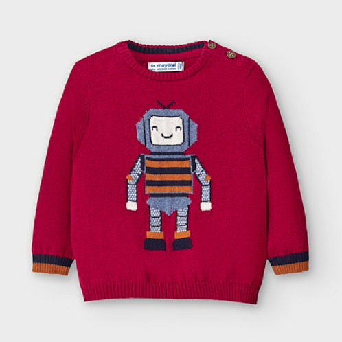 Mayoral robot cotton sweater