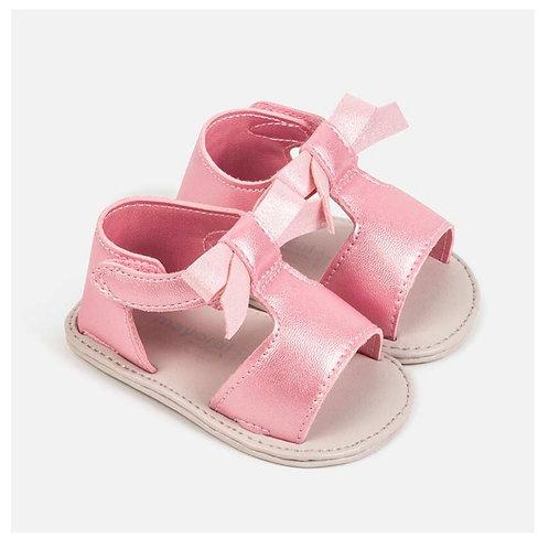 Mayoral metalic pink sandal