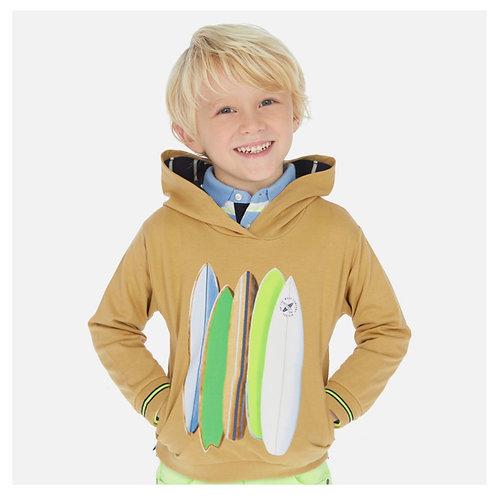 Mayoral Khaki surf board hoodie
