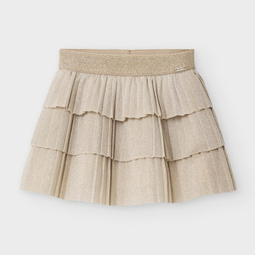 Mayoral Gold Skirt