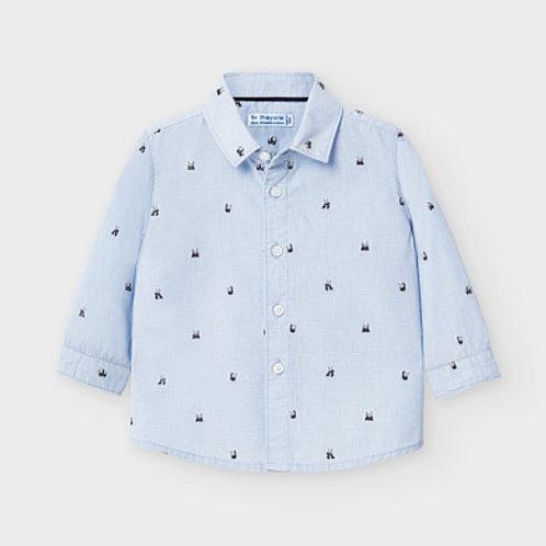 Mayoral shirt w/ panda detail