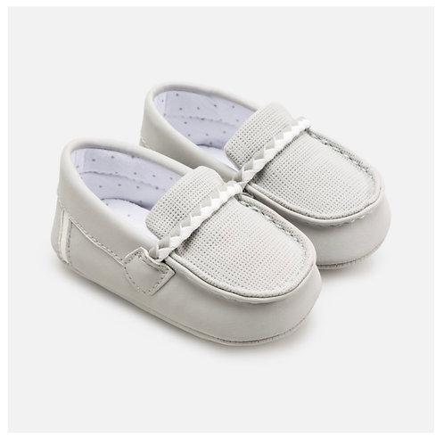 Mayoral grey driving shoe