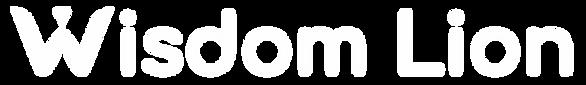 Logo Wisdom Lion completa branca.png