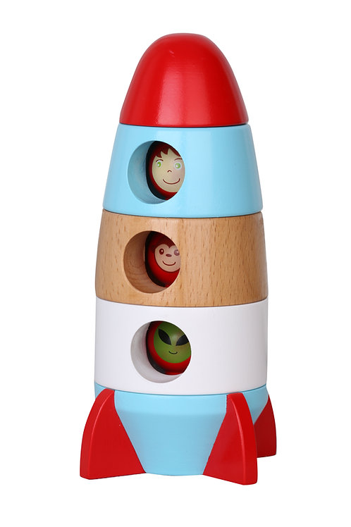 Magnetic Stacking Rocket