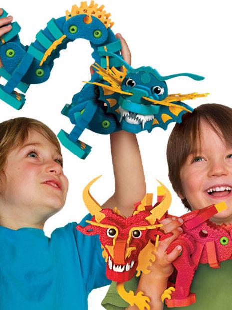 Aqua & Pyro Dragons