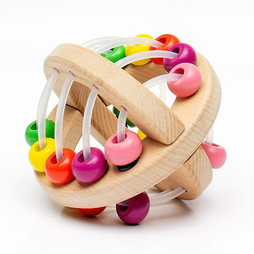 Wooden Play Ball: Beads