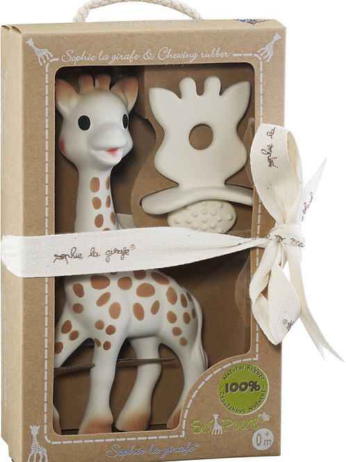 Sophie the Giraffe and Natural Teether Set