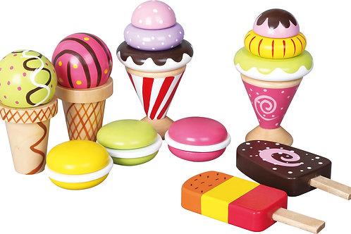 Ice Cream and Desserts Play Set