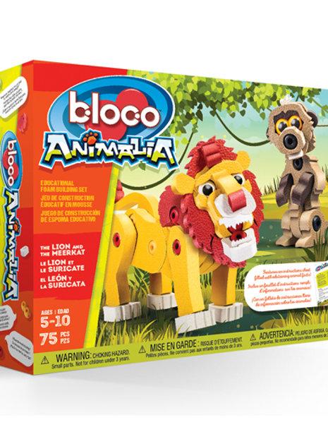 Anamalia - Lion & Meerkat