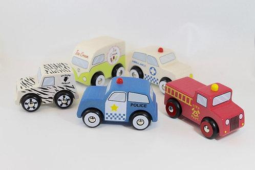 Emergency 5 Car set