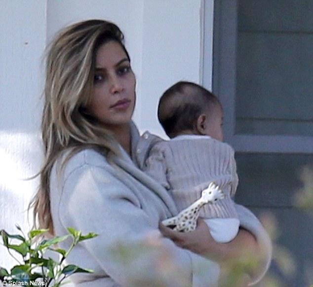 Kim Kardashian and daughter North