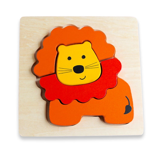Chunky Puzzle - Lion