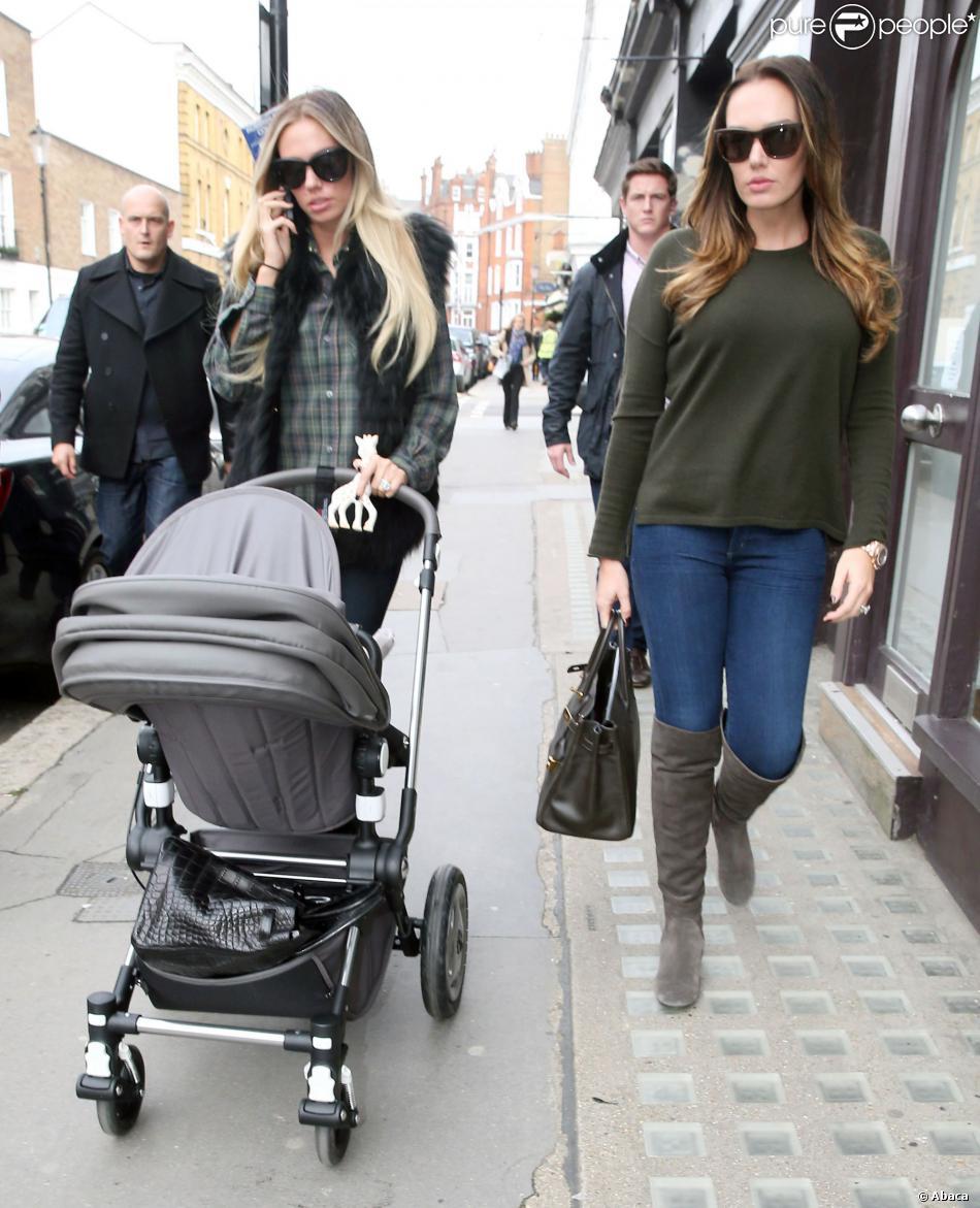Petra Ecclestone and daughter Lavinia