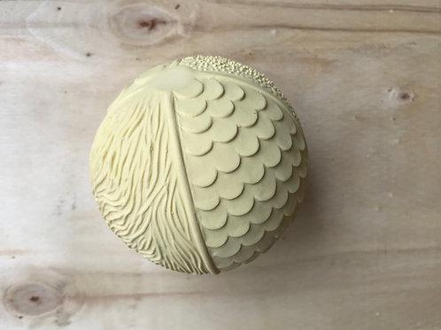 Natural Sensory Ball - Cream