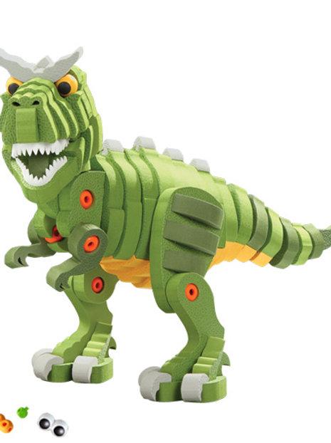 Tyrannosaurus Rex & Triceratops
