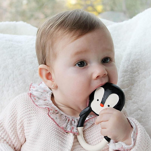 Nui the Penguin Teether
