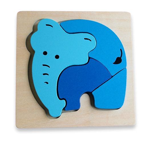 Chunky Puzzle - Elephant