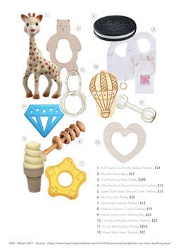 USA - Nontoxic Teething Toys