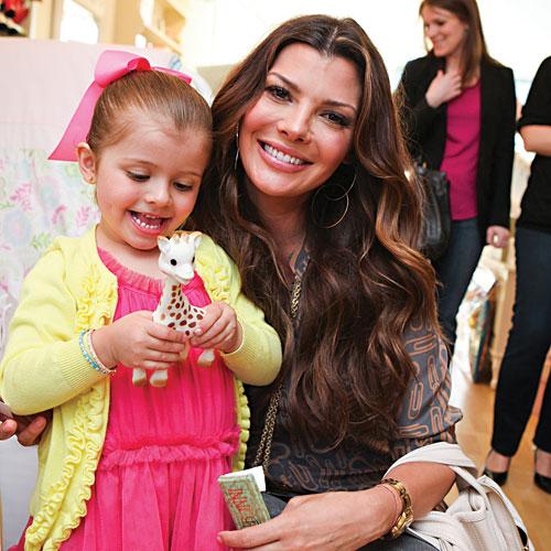 Ali Landry and daughter Estela