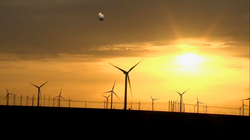 Chinese wind power fields