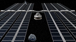 The Solar power space station