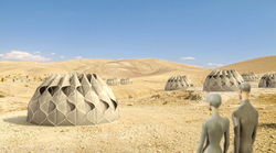Abeer Seikaly's tents