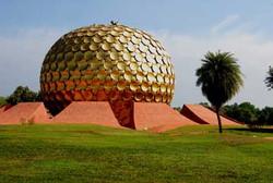 Auroville---Matrimandir