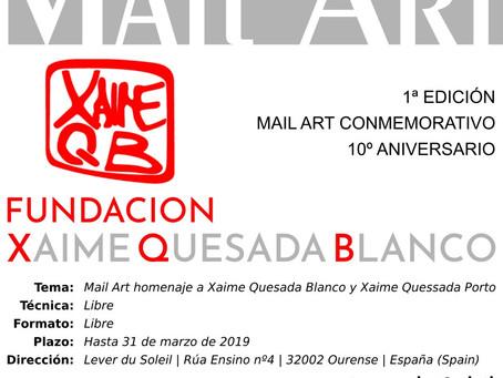 Comeza o MAIL ART conmemorativo 10º aniversario
