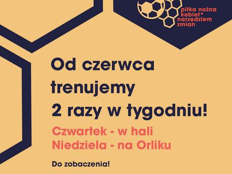 W czerwcu Kobieca* Akademia Piłkarska podwoi się!