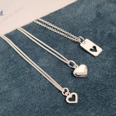 Bella Donna Sterling Silver pendants