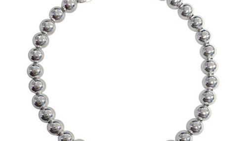 Sterling silver Donna beaded Bracelet