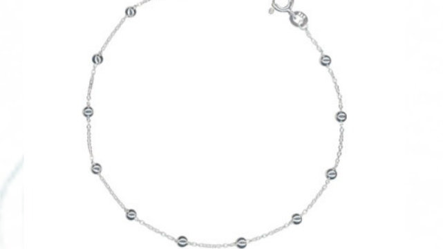 Sterling Silver chain Anklets