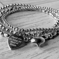 Bella Donna Sterling Silver Personalised Jewellery