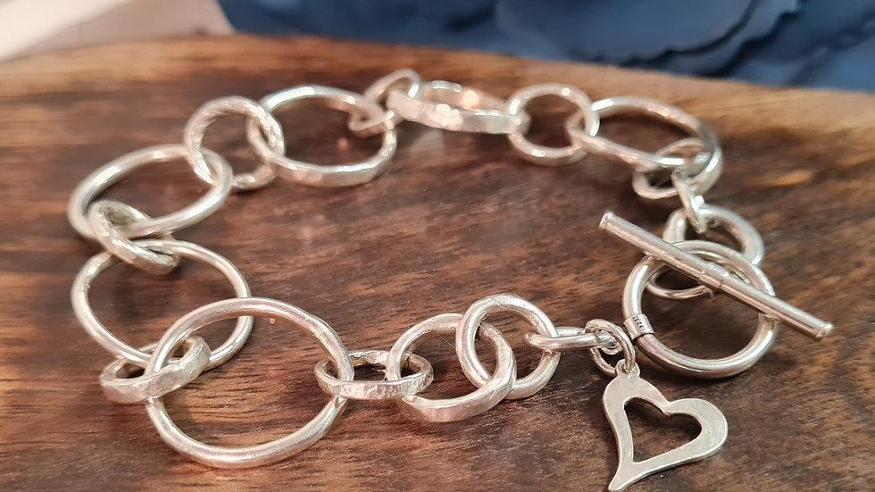 Sterling silver Beatrice  chunky Bracelet