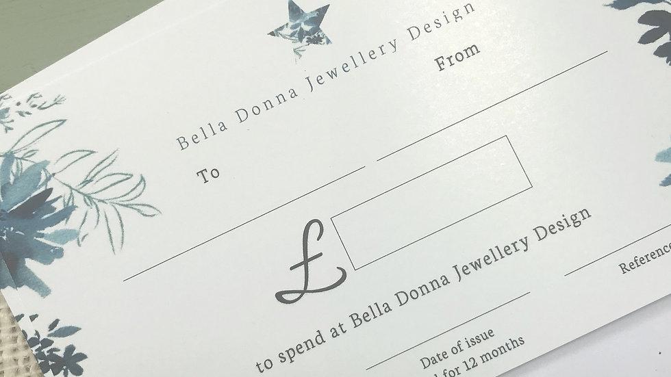 Bella Donna Design gift card