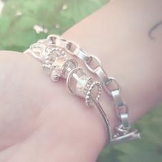 Bella Donna Sterling Silver jewellery Bangles