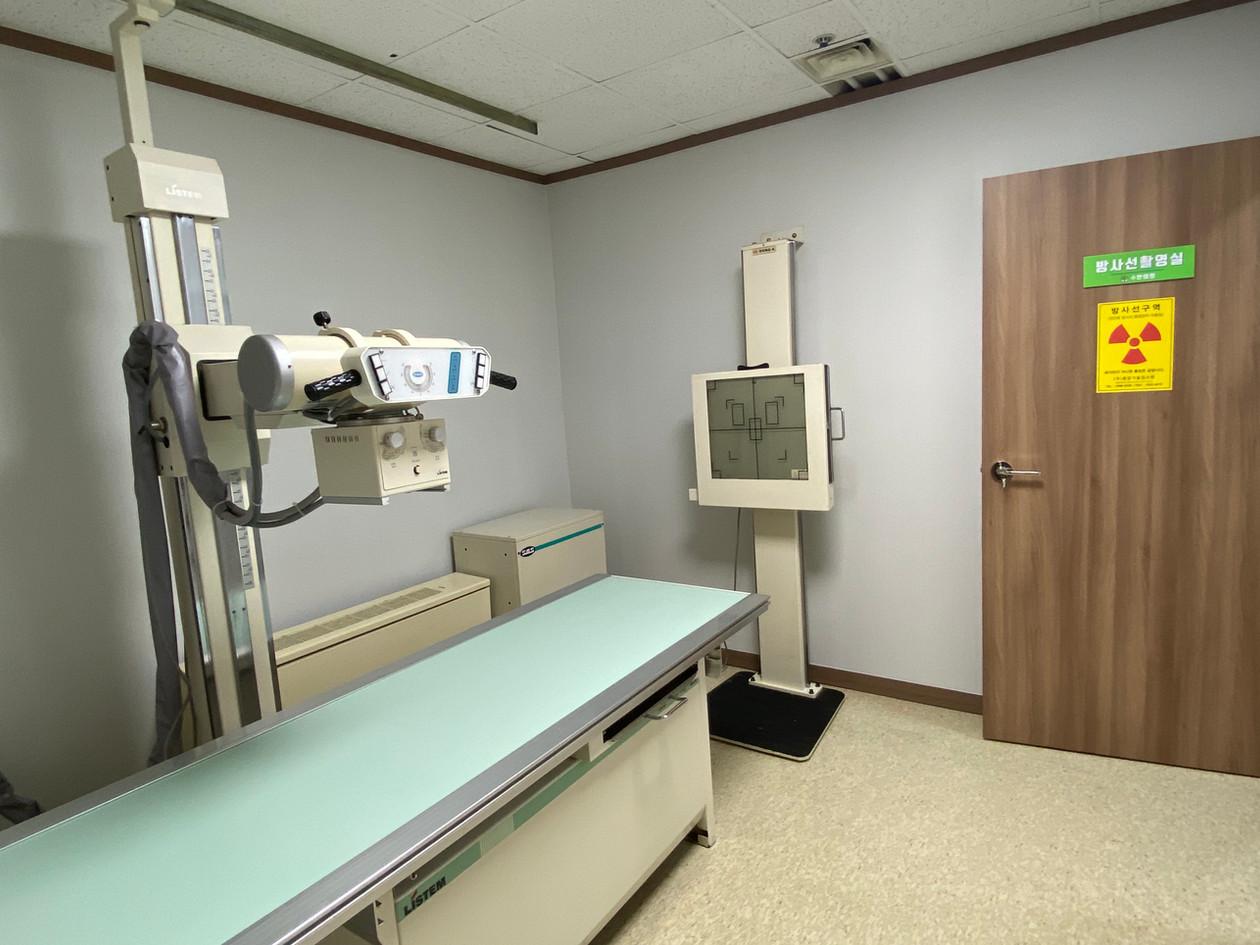방사선촬영실(엑스레이)