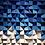 Thumbnail: Wood Mosaic 52x52 cms Wall Art - Woodeometry