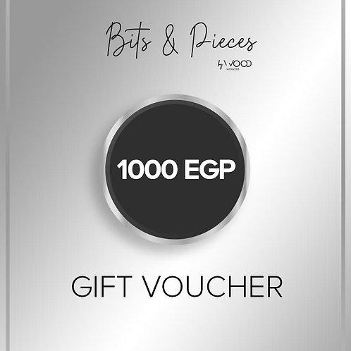 Gift Card 1000 egp