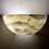 Thumbnail: Alabaster Lamp 28x14 cms Semi Circular Marble Wall light