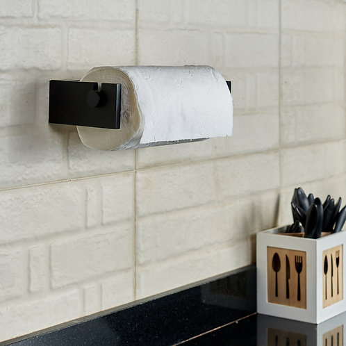 Wooden Kitchen Roll Dispenser-Adjustable Aluminum Foil Dispenser
