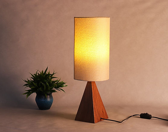 Slender Venti Table Lamp - Special Walnu