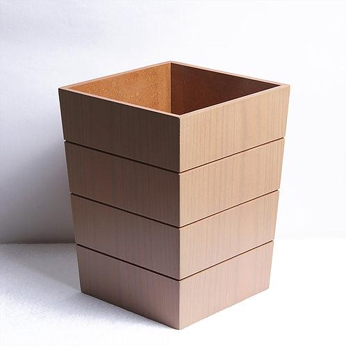Prim Modern Trash Bin - Oak