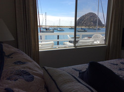 View of Rock from Bed