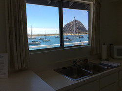View of Rock from Kitchen
